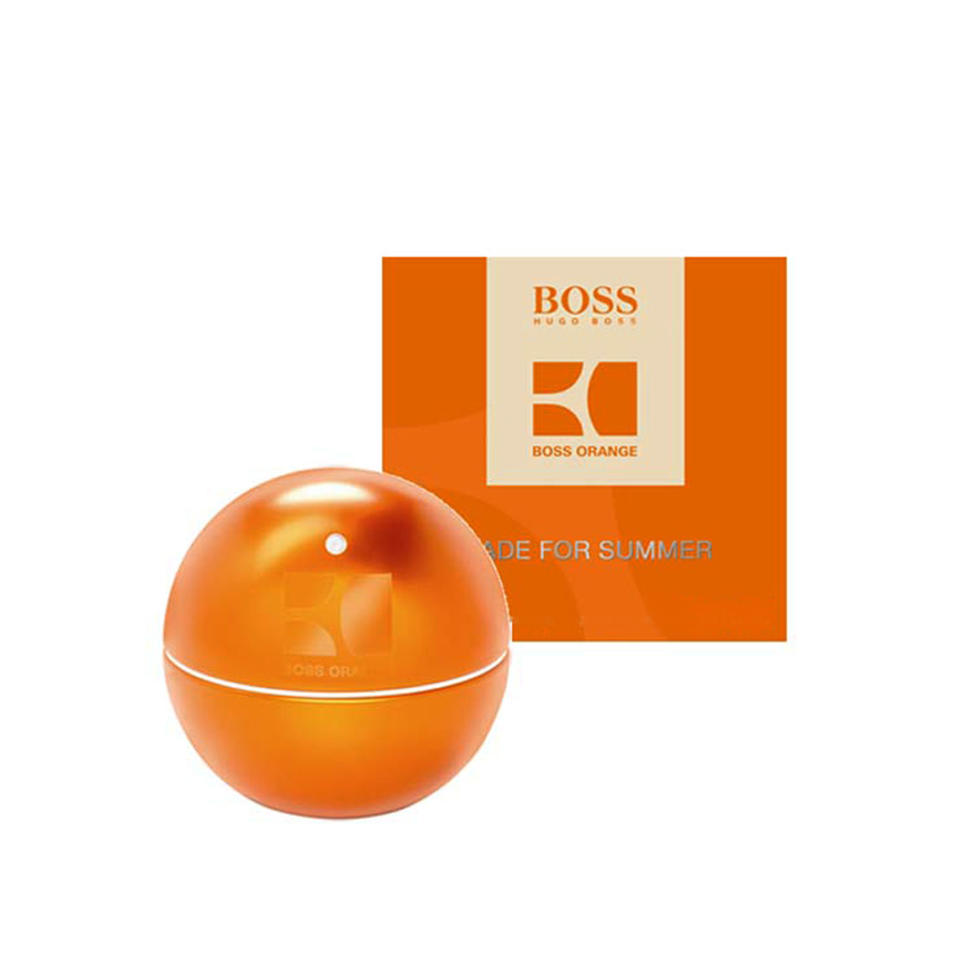 Boss In Motion Orange Made For Summer фото № 1