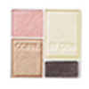 Kanebo Тени 4-цветные Coffret D'Or Eyes Appeal Shadow Refill 01 Sweet Brown