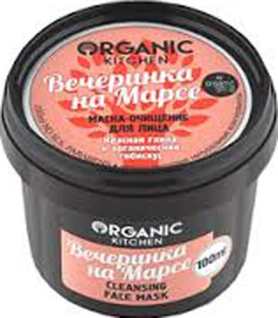Organic shop KITCHEN Маска-очищение для лица Вечеринка на Марсе 14479