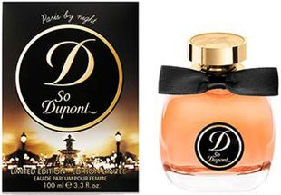 Туалетные духи So Dupont Paris by Night Pour Femme