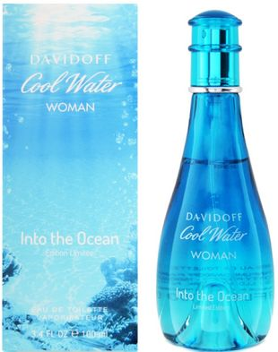 Туалетная вода Davidoff Cool Water Into The Ocean Woman