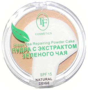 Триумф Пудра для лица Compact Powder Green Tea 3115