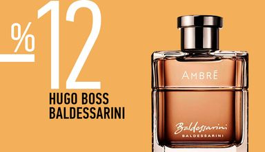 Ароматы Hugo Boss, Baldessarini со скидкой 12%